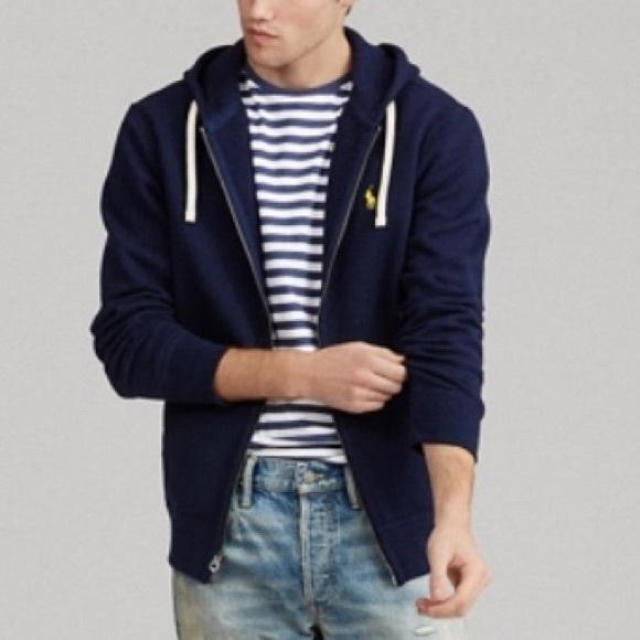Polo by Ralph Lauren Other - Polo Ralph Lauren hoodie fleece full zip jacket